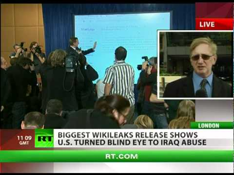 'WikiLeaks exposed US, British govt lies about Iraq casualties'