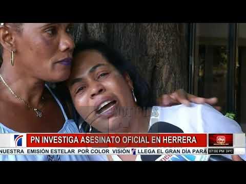 Velan restos de oficial retirado asesinado en Herrera