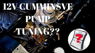 Tuning A 12 Valve VE Cummins!! How?