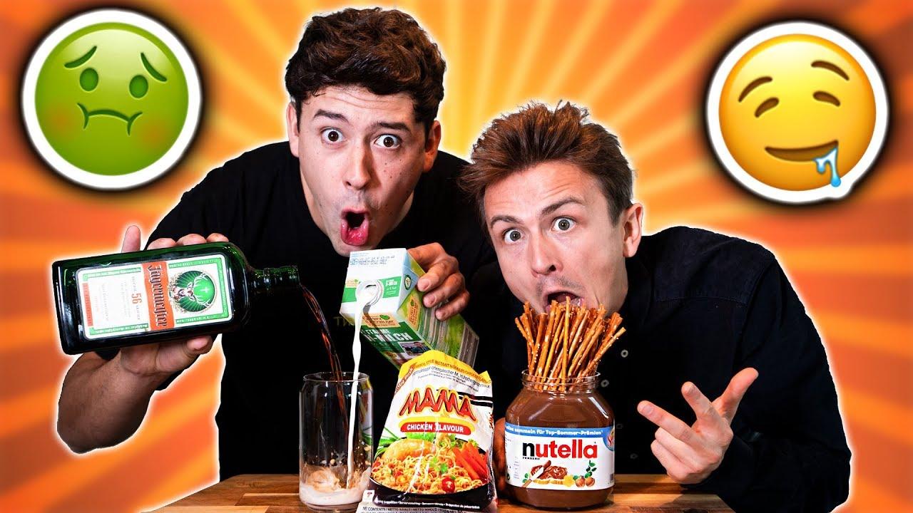 Wir probieren eure ekligsten Essens-Kombinationen ???? TEIL 2