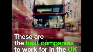 These are the best companies to work for in the UK