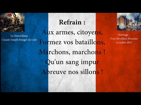 La Marseillaise - Paroles