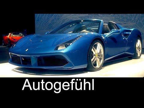 Ferrari 488 Spider Premiere At Tokyo Motor Show - Autogefühl