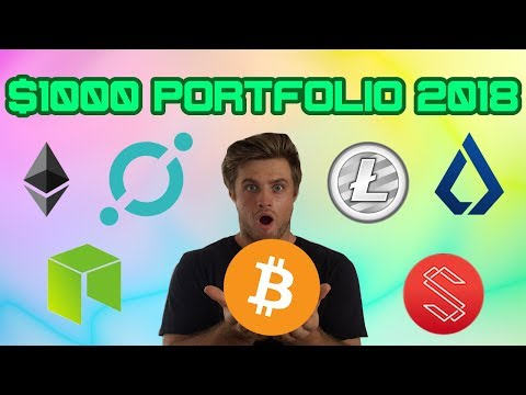 HOW TO BUILD A WEALTH GENERATING $1000 CRYPTO PORTFOLIO | CRYPTOCURRENCY FOR ABSOLUTE BEGINNERS