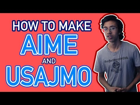 3 Steps For Making AIME And USAJMO