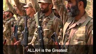 Allah o Akbar song sung by Najam Sheeraz produced by MCOM for ISPR