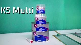 Обзор шпатлевки K5 Multi