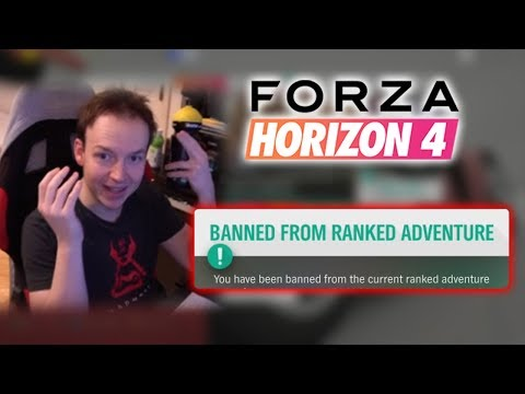 I got banned for winning | Forza Horizon 4 Funny and Lucky Moments thumbnail