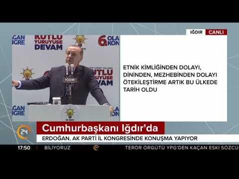 Cumhurbaşkanı Erdoğan Iğdır'da konuştu (02.12.2017)