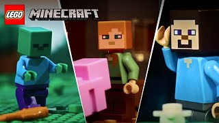 lEGO Stop Motion Animation Compilation - LEGO Minecraft - Funny Video 2017, 2018, 2019