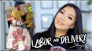 LABOR AND DELIVERY STORY ||  NATURAL WITH NO EPIDURAL
