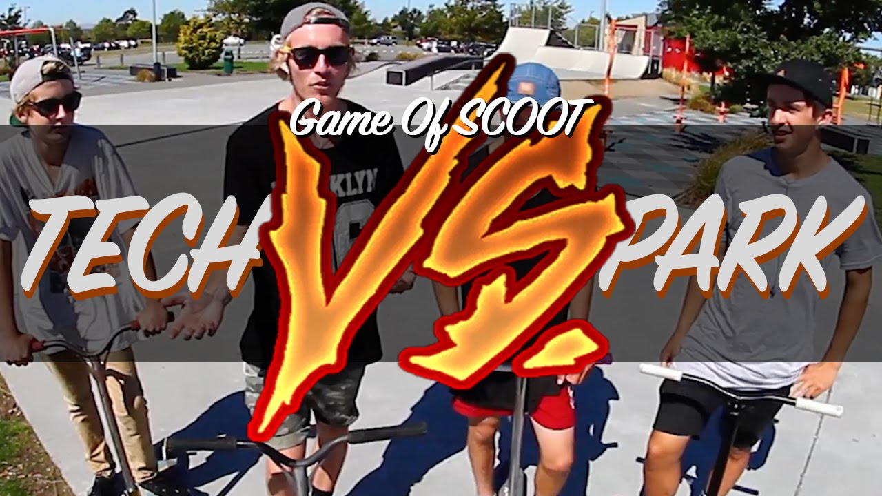 Tech Vs Park Game Of Scoot 2015 Youtube