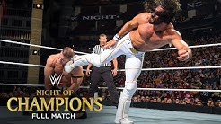 FULL MATCH Seth Rollins vs John Cena United States Title Match WWE Night of Champions 2015