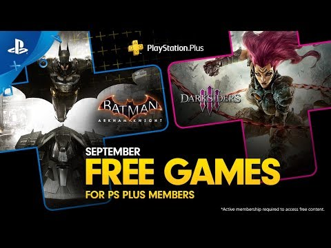 PlayStation Plus - Free Games Lineup September 2019 | PS4