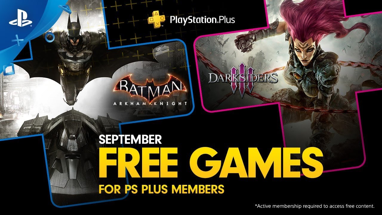 Psn November Free Games 2020.Playstation Plus Free Games Lineup September 2019 Ps4