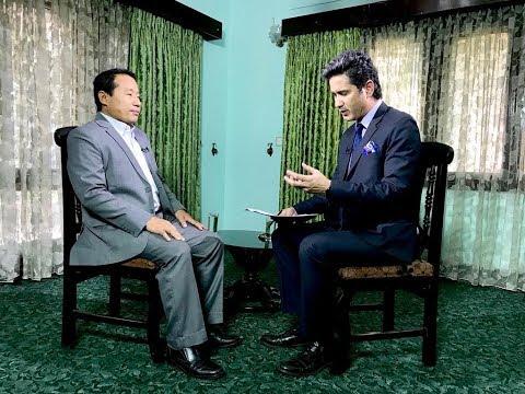 Barsaman Pun in TOUGH talk with Dil Bhusan Pathak