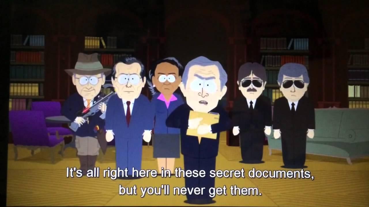 George Bush 911 Secret Documents South Park Youtube