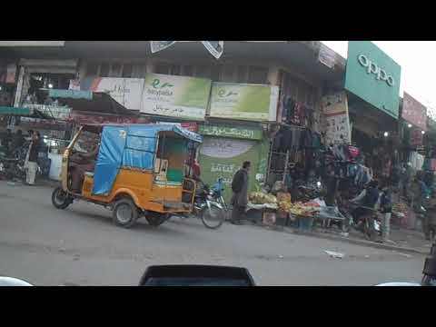 Sialkot | Bike Ride (Part-13) From Chowk Allama Iqbal To Kashmir Road