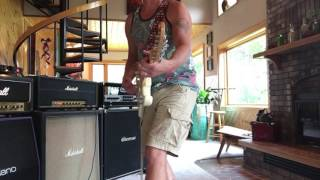 1997 Jimi Hendrix Fender Stratocaster Threw A 1969 Marshall Eddie Vegas