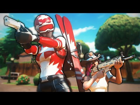 Trying to Protect an 8 Year Old Kid from Stream Snipers! (Random Duos)