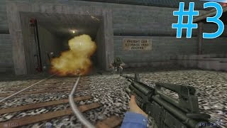 Half Life: Blue Shift | Gameplay | Part 3 - รปภ.สายบู๊ระห่ำ..กระหน่ำระเบิด!!