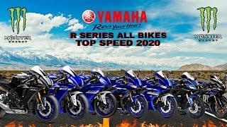 Yamaha R125 R15 R25 R3 R6 R1 R1M Top Speed 2021