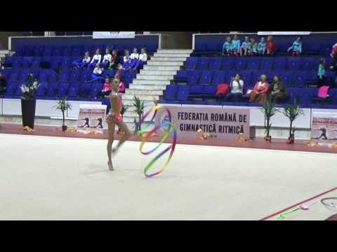 David Alice Ribbon - Romanian Rhythmic Gymnastics Cup 2016 (Junior)