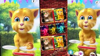 Talking Tom and Friends Cat Ginger and small Booba 2018 Colors