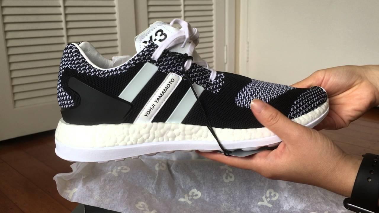 adidas y3 primeknit pure boost zg
