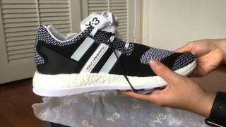 unboxing of adidas y3 pure boost zg knit