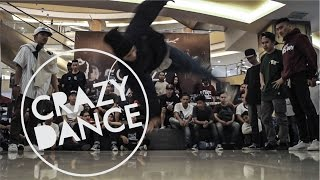 CRAZY DANCE 2015 - LIL CHUCK VS BLACK SQUAD BREAKING  | FINAL 3v3 | STRIFE.TV INDONESIA