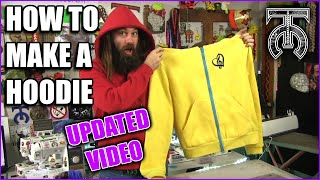 How to Make a Hoodie - Sewing from Scratch - Tock Custom - How to use a Sewing Machine