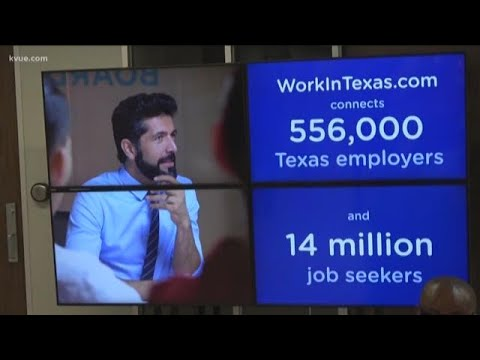Texas Workforce Commission Unveiling New Platform To Streamline Hiring Process | KVUE