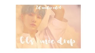 Video 『 BTS - MIC DROP 』3D edit use headphones!! download MP3, 3GP, MP4, WEBM, AVI, FLV Agustus 2018