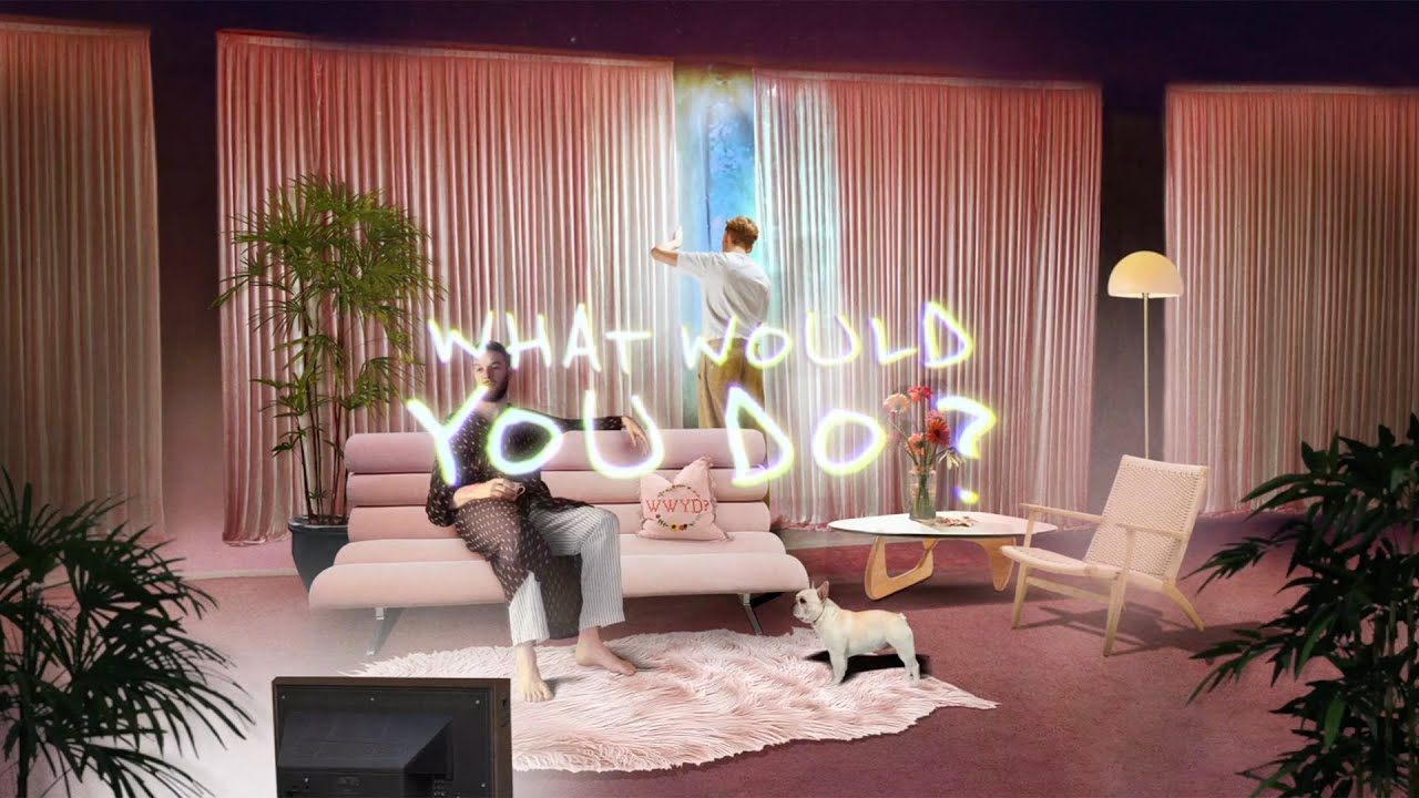 HONNE - WHAT WOULD YOU DO? (Feat. Pink Sweat$) (Official Lyric Video)
