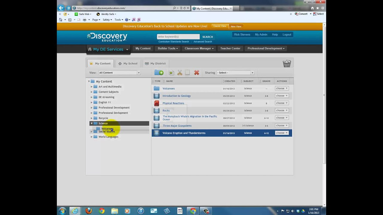 Discovery Education videos, Part 3 - Lesson Planning - YouTube