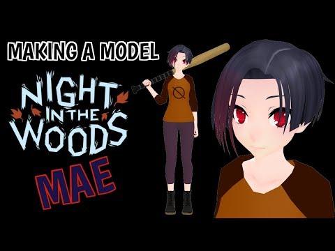 [MMD] Making a model - NITW Mae