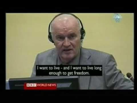 Ratko Mladic Trial 1 - BBC America