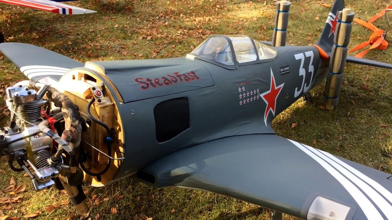 Yak 3U & SU-31 fantastic idle Saito FG-19 R3 radial