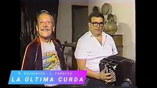 La última curda - Tango - El polaco Roberto Goyeneche cantando con Leopoldo Federico en Bandoneon