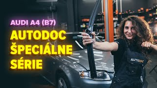 Ako vymeniť stierače na AUDI A4 B7 Sedan [NÁVOD AUTODOC]
