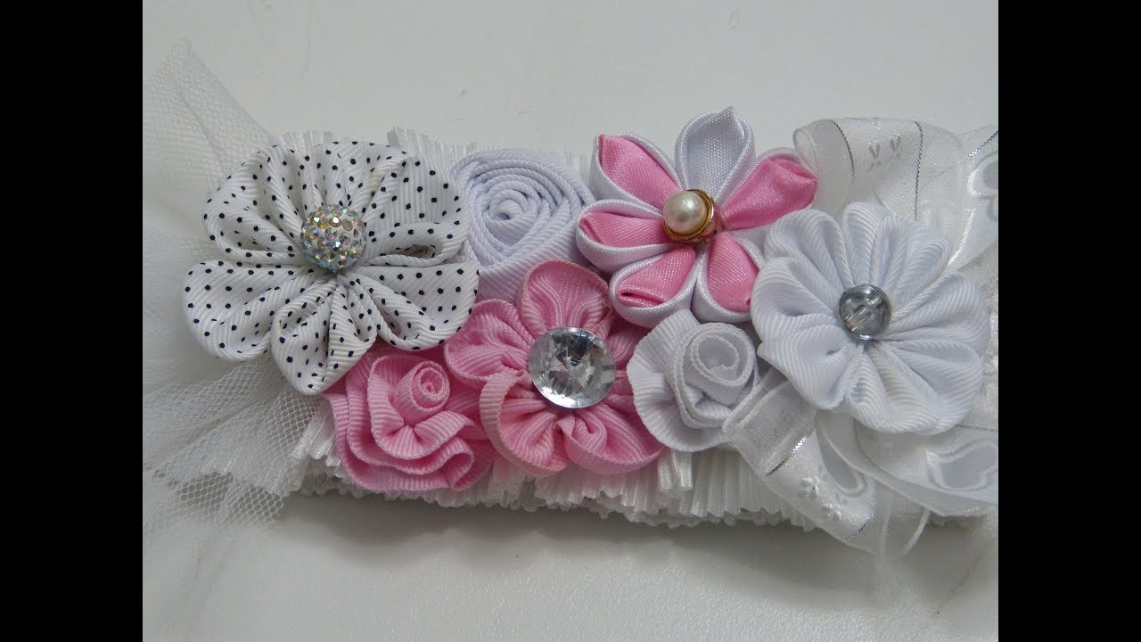 how to make flower collage