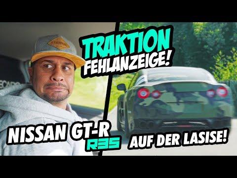 JP Performance - Traktion Fehlanzeige! | Nissan GT-R R35 (alt) auf der LASISE