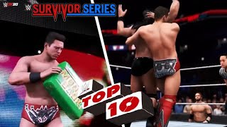 WWE 2K20: More TOP 10 Predictions for Survivor Series 2020