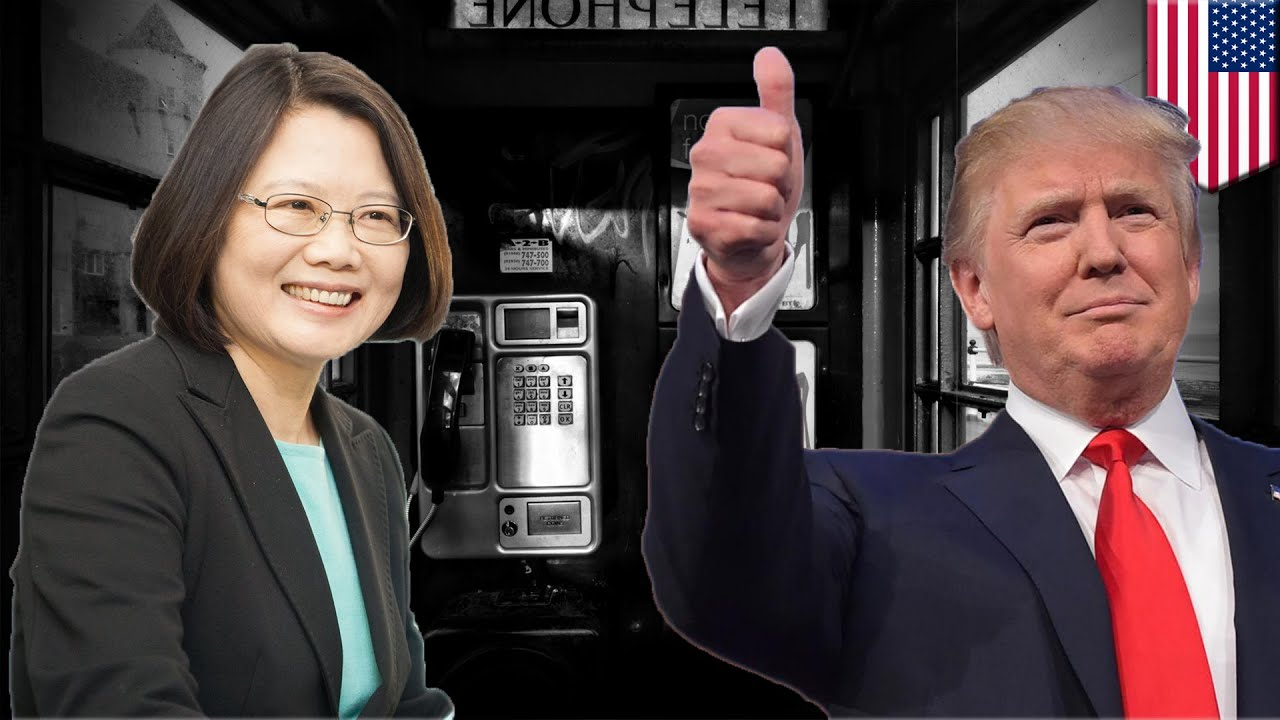Image result for images of Trump and Tsai Ing-Wen