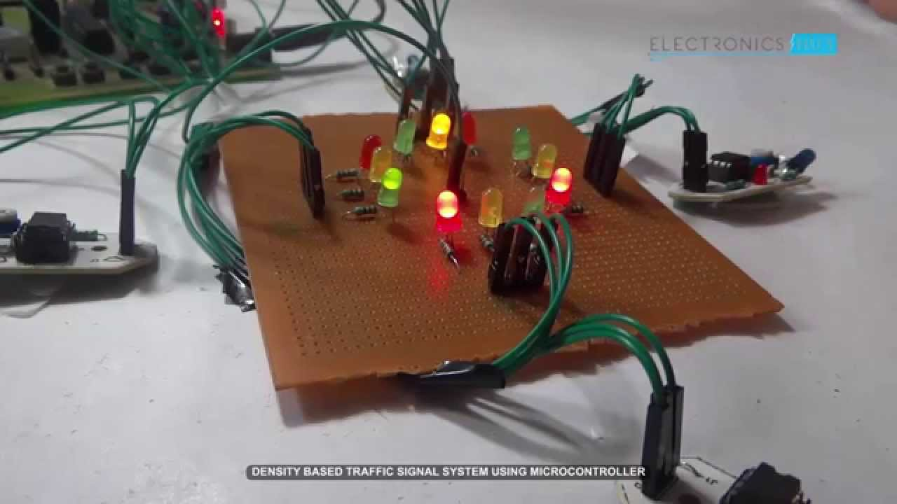 Traffic Light Electronics Projects And Circuit Made Easy