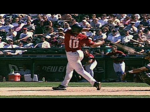2001 Futures Game: Adam Dunn homers for Team USA