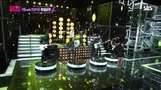 130407 K팝스타 시즌2 YB with top10 특별공연 나는나비