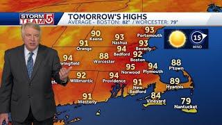 Video: Heat will continue to climb heading into Monday