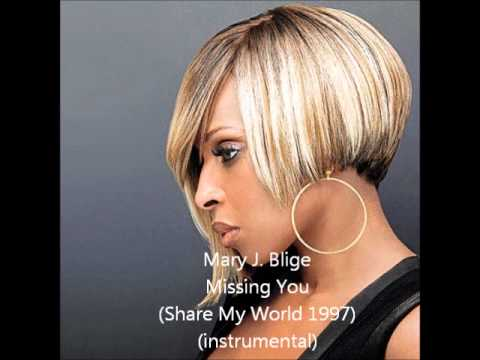 Mary J. Blige - Missing You (Share My World 1997) (instrumental)